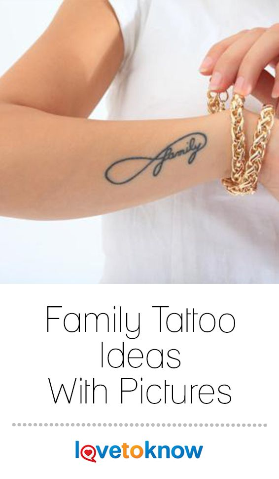 Family Tattoo Ideas With Pictures Lovetoknow Family Tattoos Meaningful Wrist Tattoos Word Tattoos