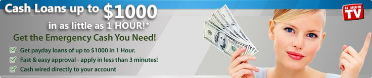 Get Fast Cash Advance online for short-term Payday Loans that takes 2-3 minutes to fill FORM..! http://www.cashadvanceamerica.us
