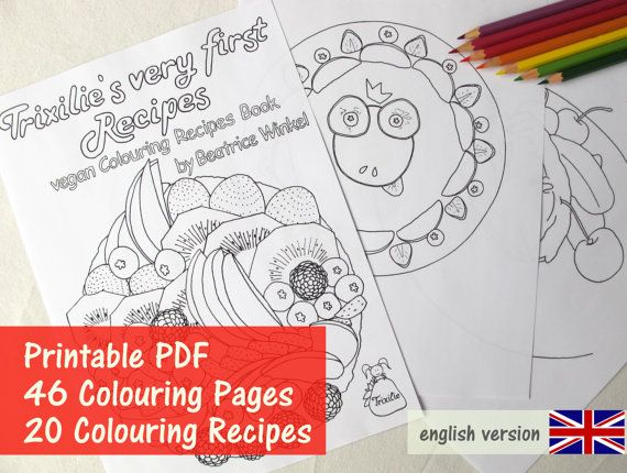 29 best Colouring Recipes images on Pinterest   Vegan recipes ...