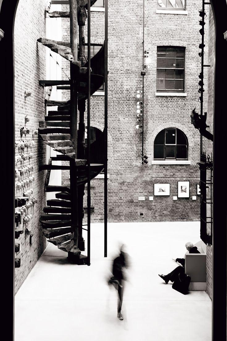 V&A Museum in London in Black & White