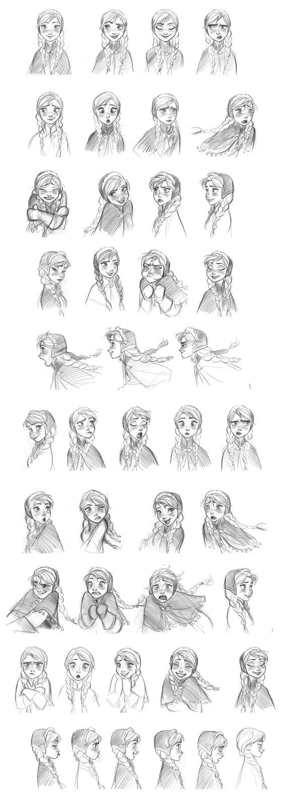 """""""Anna"""" by Jin Kim* Model Sheet 