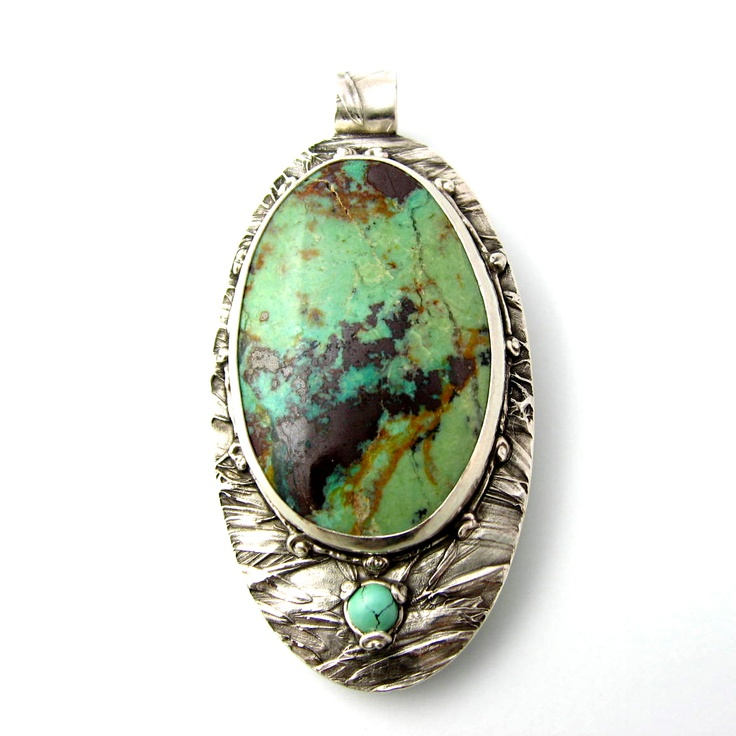 Chrysocolla and tiny turquoise