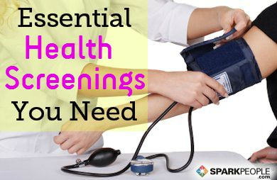 Your Guide to Health Screenings via @SparkPeople