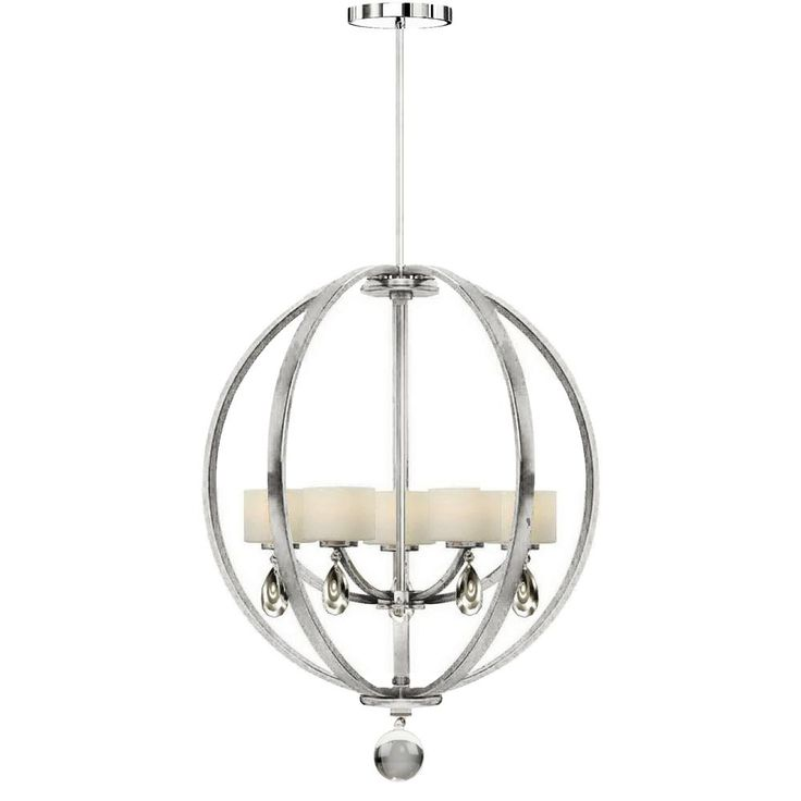 Piccadilly Chrome Chandelier : 9KA3 | Pego Lamps