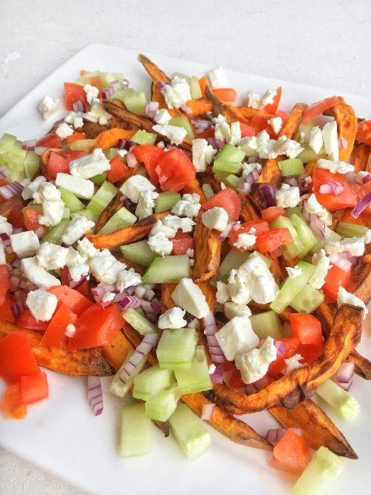 Recept: Zoete aardappel friet met feta – HealthyFoodByLau