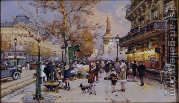 art market place bastille paris