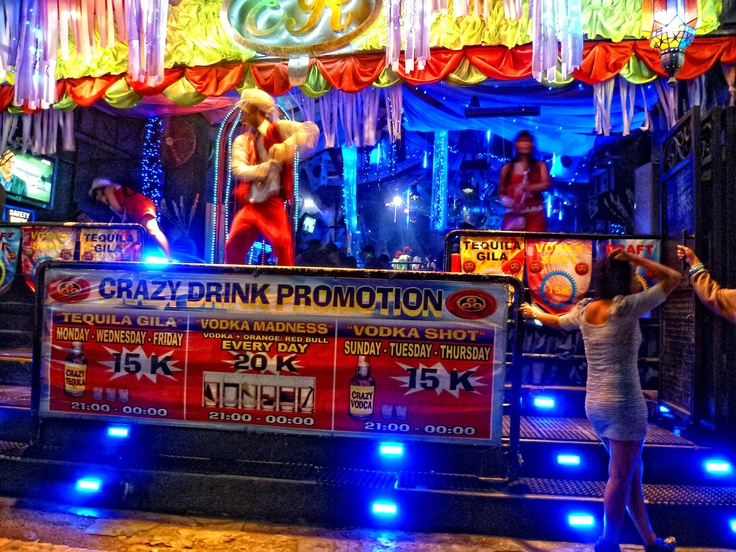 Night Club in Legian, Bali