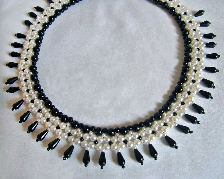 Free pattern for necklace City