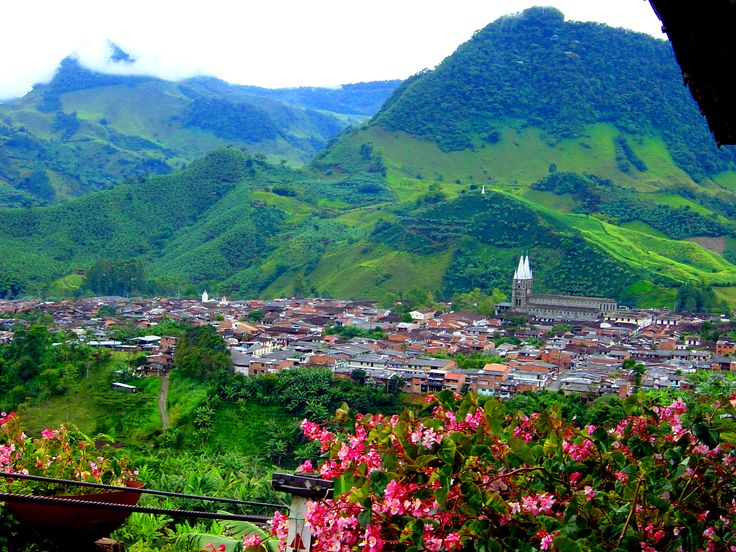 Jardin, Antioquia, Colombia-- where the nespresso comes from