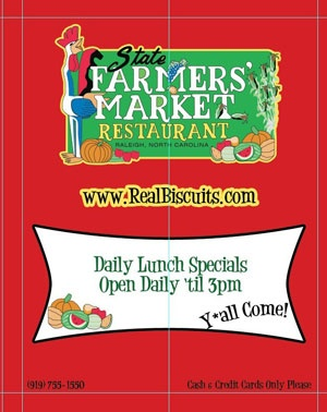 State Farmers Market Restaurant, Raleigh NC