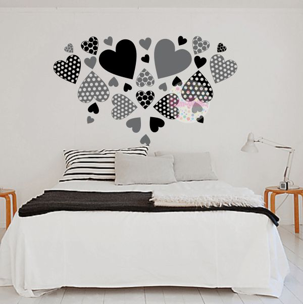 1000 ideas about vinilos decorativos pared on pinterest - Vinilos cabeceros de cama ...