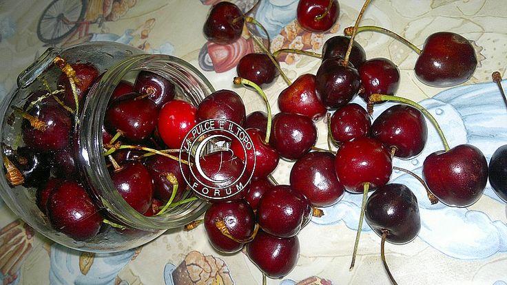 La frutta sciroppata si presta a mille utilizzi.... oggi parliamo di Ciliegie.... Ciliegie sciroppate http://www.lapulceeiltopo.it/forum/ricette-sottovetro-conserve-salse-confetture/1686-ciliegie-sciroppate#2321