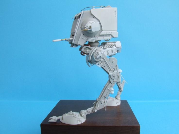 Star Wars AT-ST in progress by Luigi Graffi