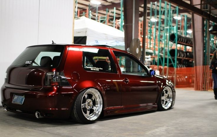 Bad-ass VW Golf GTI