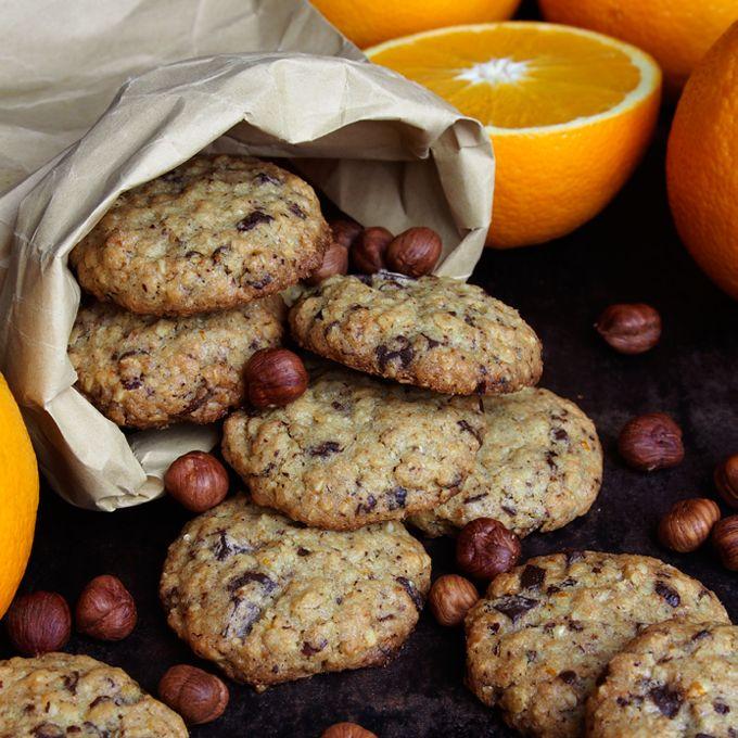 Havrekjeks med appelsin, sjokolade og hasselnøtter | - Borrow my eyes | Bloglovin'