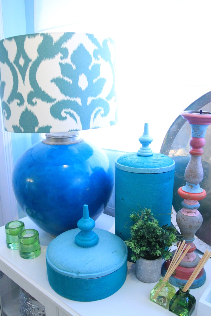 Morocan Inspired Kitchen - Project by Ana Antunes for House Makeover Show - Turquoise, green.