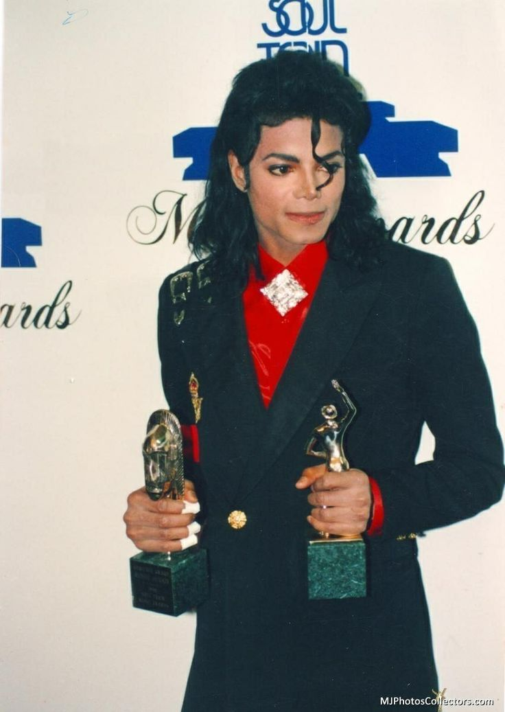 Michael Jackson at the 1989 Soul Train Awards