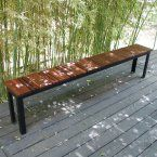 Sarabi SOL Outdoor Dining Bench - Outdoor Benches at Hayneedle