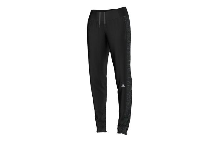 #Adidas Supernova Storm Slim Tight W - damskie spodnie do biegania o regularnym kroju,które zapewniają ochronę przed wiatrem, deszczem i śniegiem, jednocześnie odprowadzając nadmiar wilgoci na zewnątrz. Polecane do biegania, czy różnego rodzaju treningów szczególnie w trakcie chłodnych i dżdżystych dni. #dlugie #damskie #new #jesienzima2015 #getry