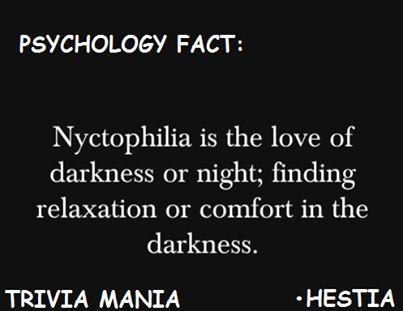 Psychology fact.