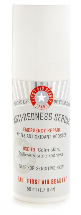 First Aid Beauty Anti-Redness Serum...just wish it had a better scent :-/