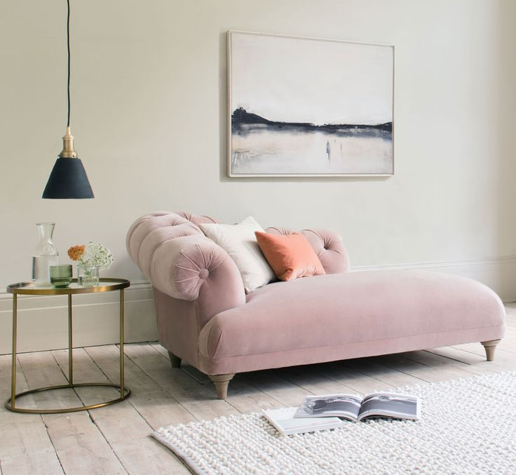 "Ideal Home has chosen our Fats chaise lounge as one of the standout pieces in our NEW AW17 collection! Here's what they had to say: ""Dreamy in a chalky pink velvet, you don't see as many stand alone chaise designs these days, it feels like they were replaced by the modern day corner sofa. We think this stunning design could be responsible for  a surge in popularity of the humble chaise.""  Read more at http://www.idealhome.co.uk/news/loaf-new-furniture-collection-178732#fdCFYPh5g4M9LKRr."