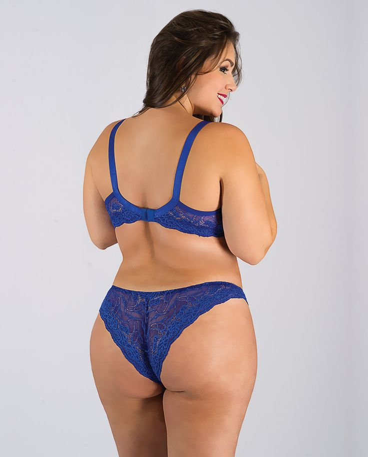 Plus Size Ebony Lingerie