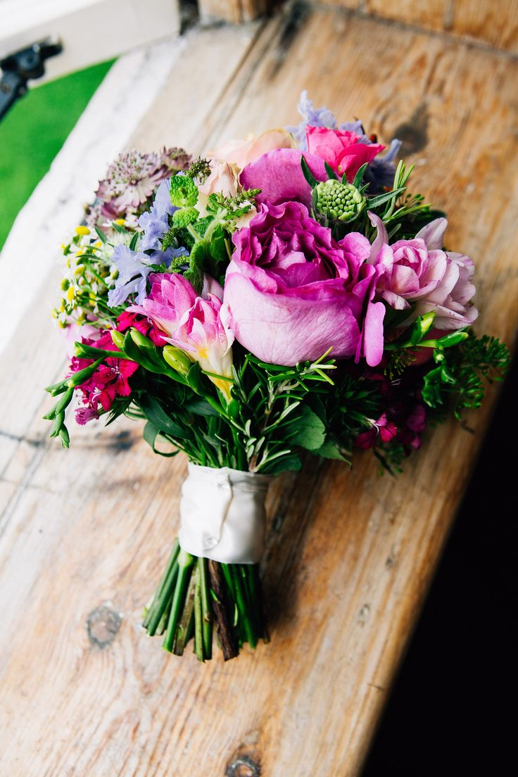 Flowers from a wedding in August