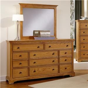 8 Drawer Dresser Drawers And Mirror On Pinterest
