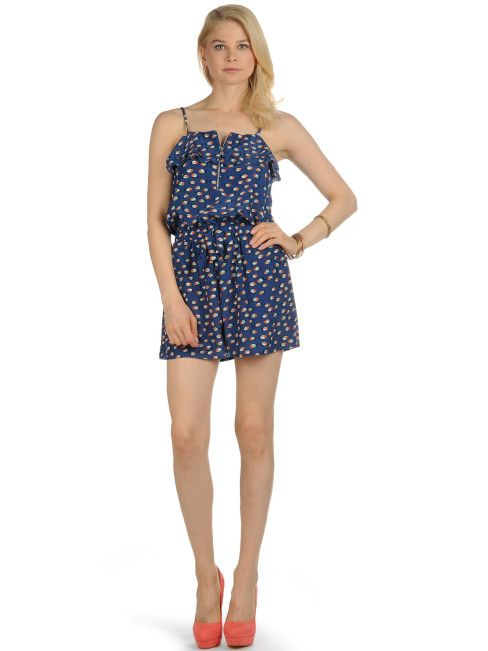 Yumi Overall, blue