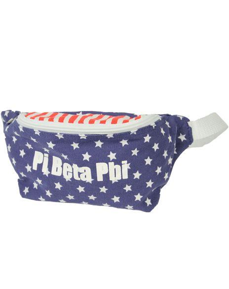 Pi Beta Phi America Fannypack by Adam Block Design | Custom Greek Apparel & Sorority Clothes | www.adamblockdesign.com
