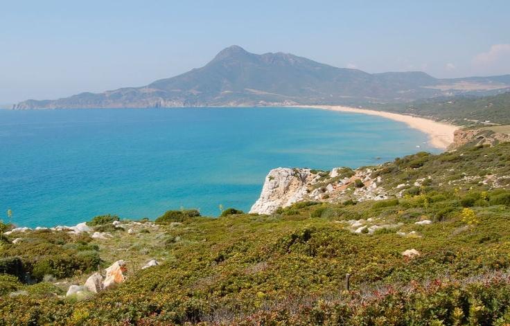 Spiaggia di Portixeddu (Fluminimaggiore), Sardegna