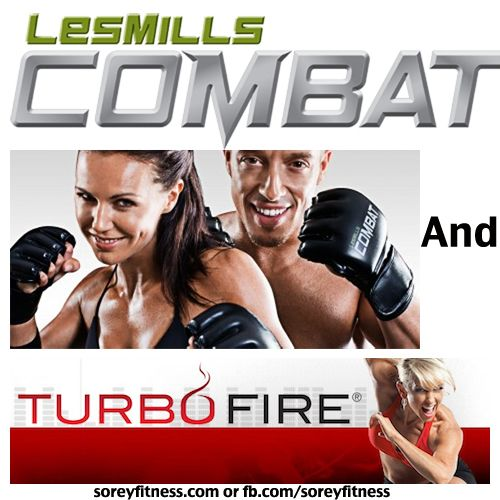 Les Mills Combat TurboFire Hybrid using a Lot of HIIT workouts