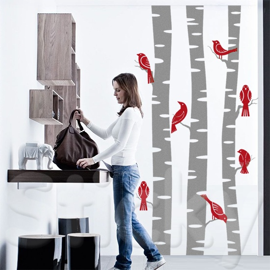 Wall Sticker BIRCH by Sticky!!!