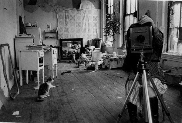 Woodman,autoportrait-au-miroir