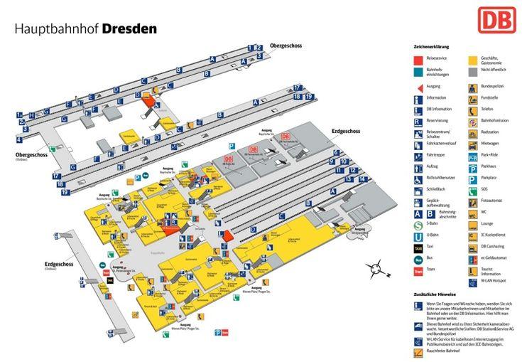 Dresden hauptbahnhof map