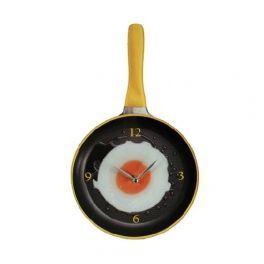 Relógio de Parede Frigideira com Ovo Frito