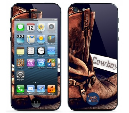You love all about #FarWest ? This #skin is made for you : #CowBoy Boots for #iPhone5 !