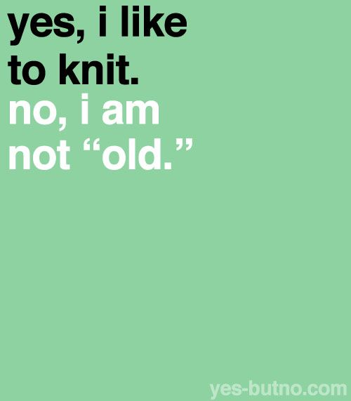 #Knitting poster.  Show your pride for knitting!