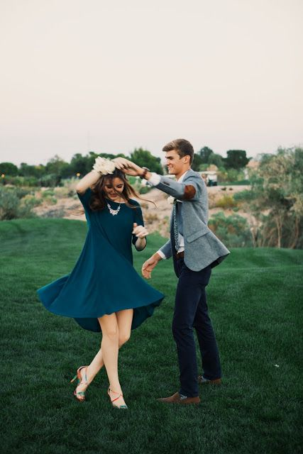 Dance with her spontaneously in random places. Don't be afraid of what people watching will think, it will bring a smile to their face and prove to your girl how much you love her.