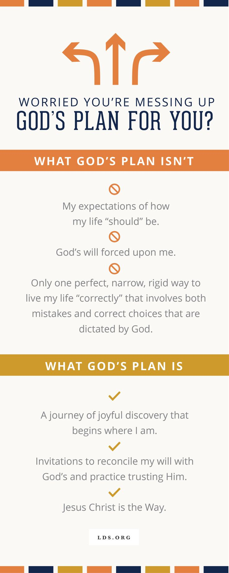 You're Not Messing Up God's Plan for You #LDS #Faith