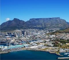 Table Mountain, the most beautiful mountain in the world. Well, we think so anyway!