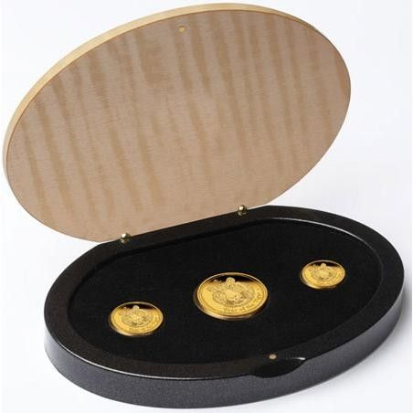 2010 Year Of The Tiger Gold Proof 3 Coin Set