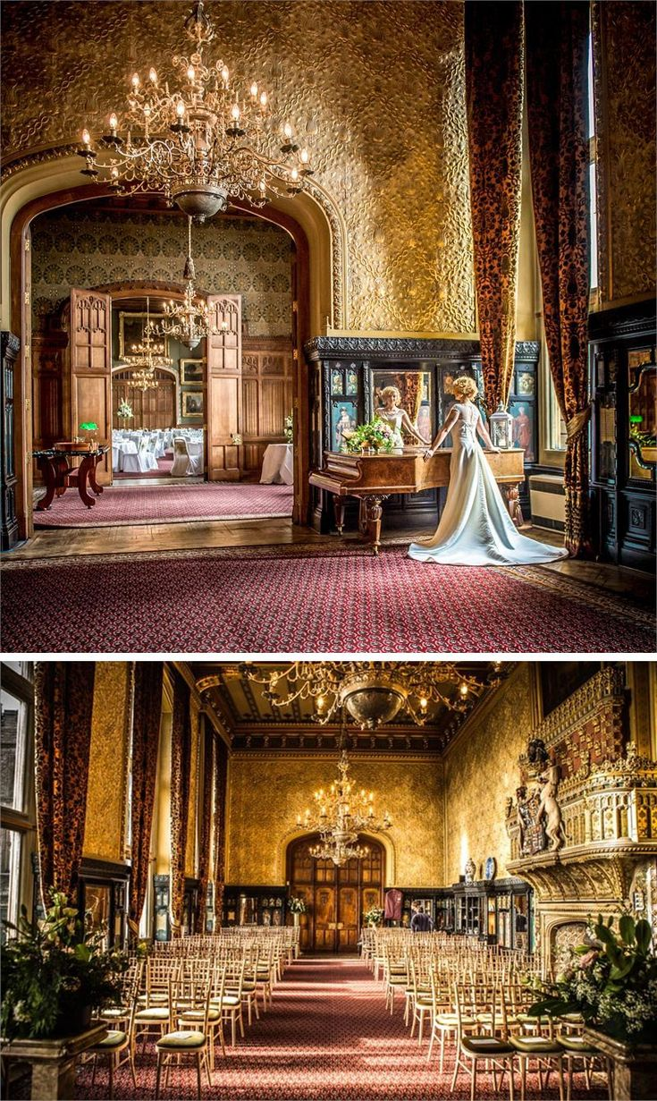 The Gothic-style appearance of Carlton Towers is perfect if you want your setting to blow your guests away
