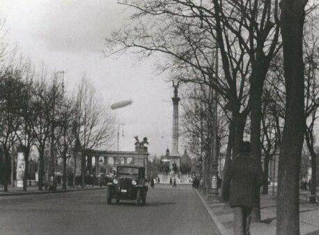 zeppelin léghajó, budapest, 1931