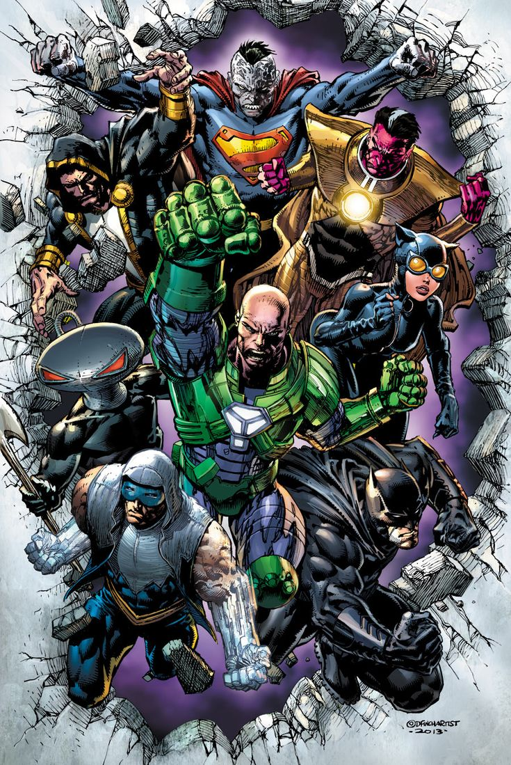 Forever Evil by David Finch