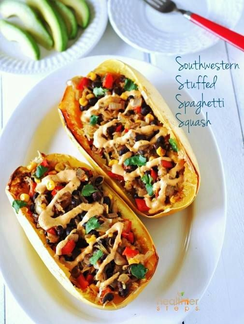 This Southwestern spaghetti squash is now one of my latest rave. This humble squash is so versatile and you'd be amazed how many wonderful gluten free plant based dishes you can create using this vegetable