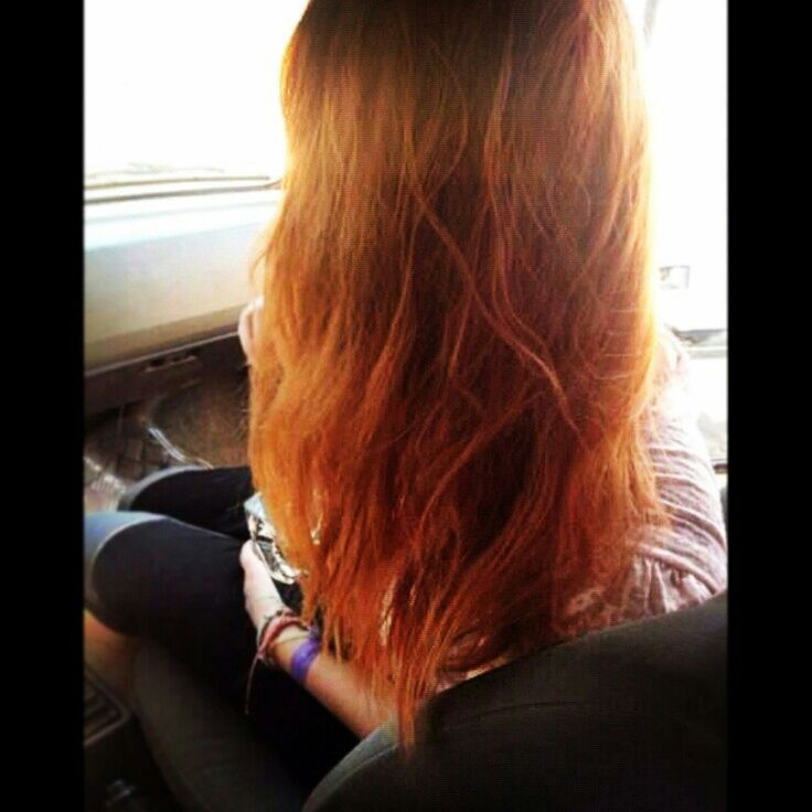 Hair, cabelos, red, ruivo, natural, tingido.