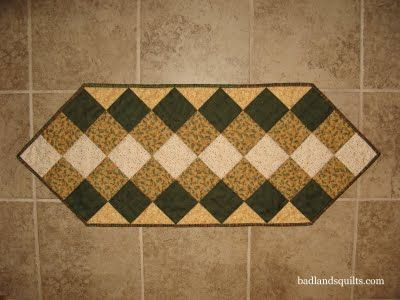 Table Runners Free Pattern Christmas Quilt As You Go