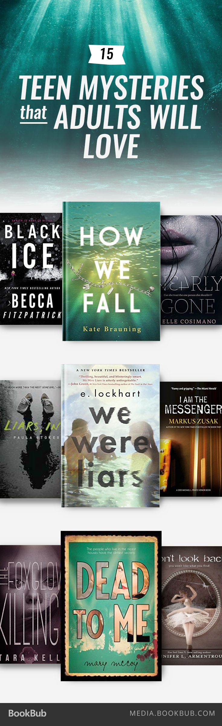(---)15 Teen Mystery Books That Adult Readers Will Love
